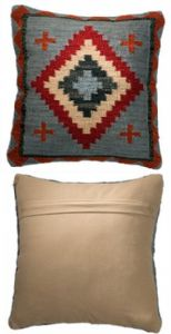 Cushion Cover~ Hippy Bohemian Indian Ladakh Bohemian Print Cushion Cover~ By Folio Gothic Hippy CC82